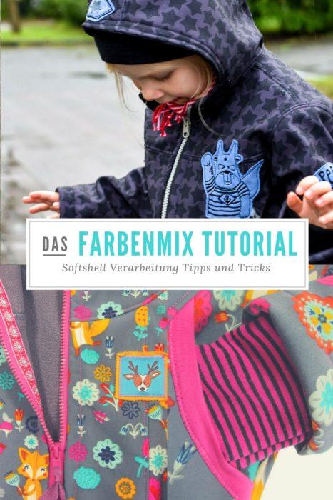 farbenmix Nähschule : das farbenmix Videotutorial Softshell Verarbeitung - Tipps und Tricks von Sabine von farbenmix