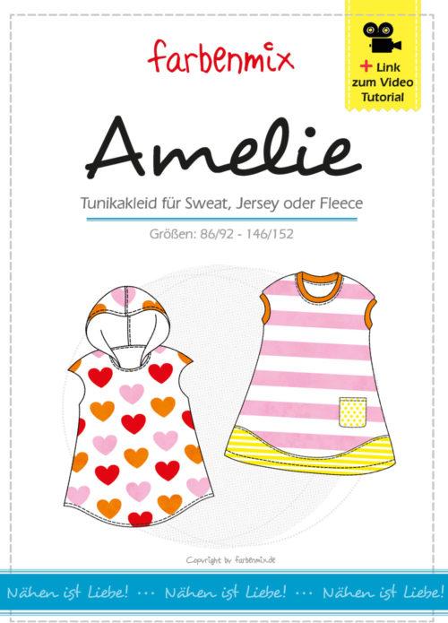 farbenmix Geburtstagswoche mit neuen überarbeiteten Schnittmuster AMELIE