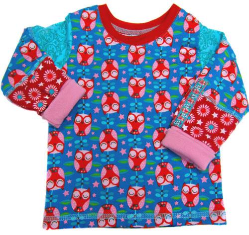 Das shirt aus der Zwergenverpackung Vol. 2 ist schnell genäht und ihr könnt wunderbar auch Stoffreste verwenden