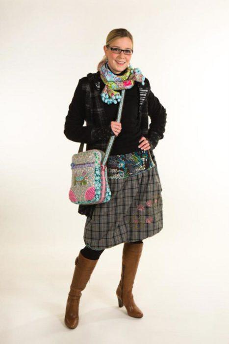 Helma ein toller Damenrock - Damenrock nähen mit dem besonderen Touch - Schnittmuster bei farbenmix HELMA
