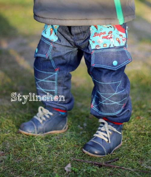 Schnittmuster Webware für Jungen - Hose - Jungenhose nähen - Schnittmuster kaufen für Jungs bei farbenmix