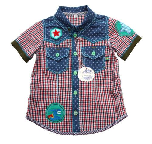 Schnittmuster JOEY für ein Kinderhemd oder Kinderbluse jetzt auch als Ebook von farbenmix