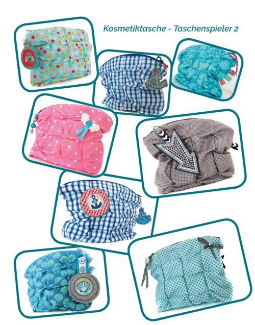 Kosmetiktasche Taschenspieler 2 auch als Einzelebook mit Clutch jetzt neu im farbenmix Shop