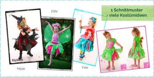 Kostüm für Karneval selber nähen Ein Rock mehrere Kostümideen Näh dir ein Faschingskostüm selber - Inspirationen rund um das selber nähen zu Karneval