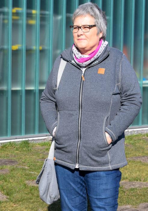 Jacke nähen für Damen - Schnittmuster Pellworm von farbenmix