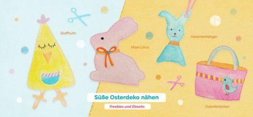 Ostnähideen mit Ebooks und Freebook von farbenmix