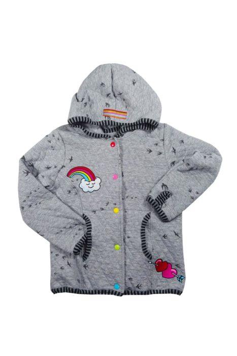 Klein Pellworm von farbenmix Jacke nähen für Kinder Schnittmuster
