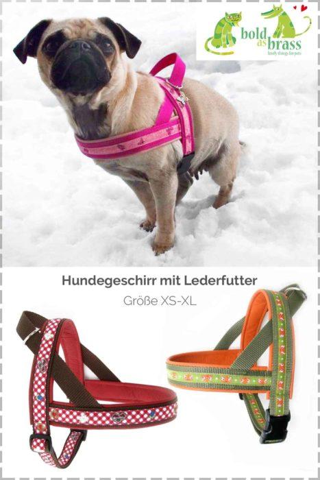 Norwegengeschirr für Hunde selber nähen  - Ebook mit ausführlicher Anleitung für kleine bis große Hunde von farbenmix