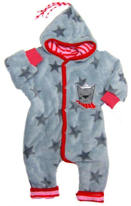 Zwergenverpackung Baby Overall nähen mit dem Schnittmusterpaket für Babys von farbenmix