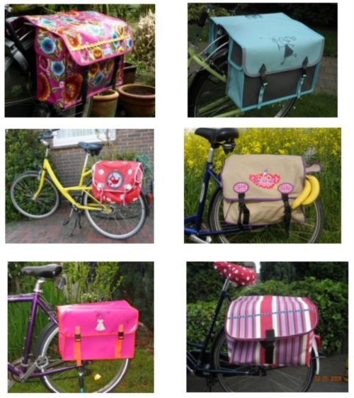 Tag des Fahrrads Satteltaschen fürs Fahrrad nähen