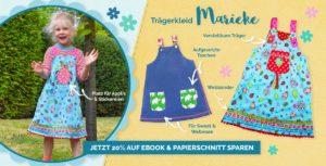 Marieke das Trägerkleid für Mädchen - einfaches Schnittmuster