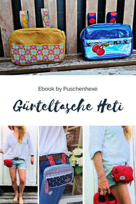 Gürteltasche HETI ebook von Puschenhexe
