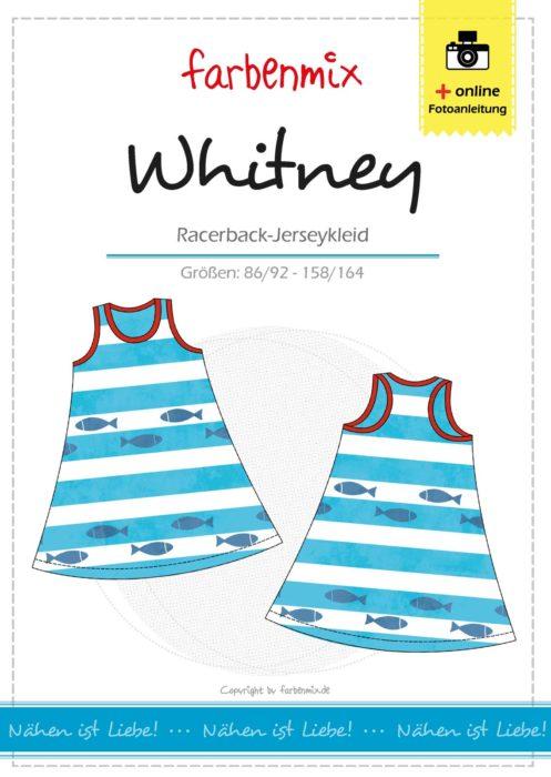 Racerback Jerseykleid von farbenmix . Ruckzuck genähtes Sommerkleid