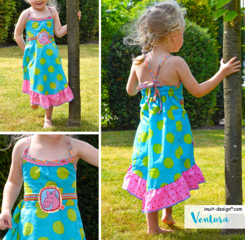 Ventura - Neckholderkleid von farbenmix