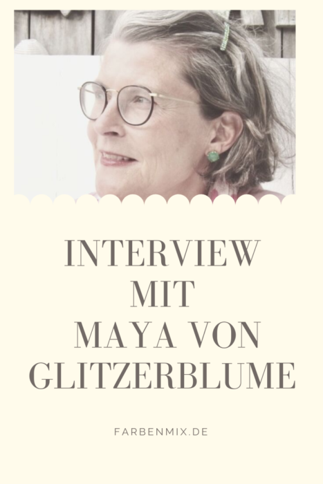 Glitzerblume Interview bei farbenmix