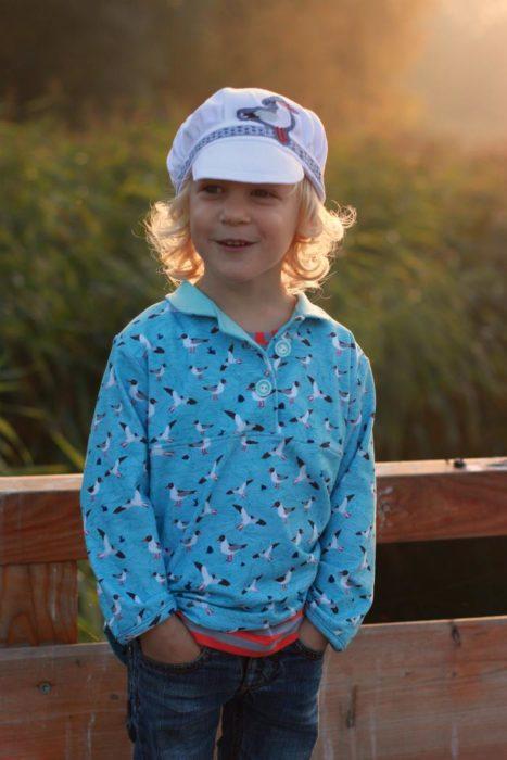 Bjarne Schnittmuster von farbenmix - cooles und bequemes Jungenhemd nähen