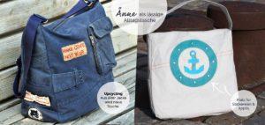 Alltagstasche nähen mit Änne von Puschenhexe Taschenebook erhältlich bei farbenmix