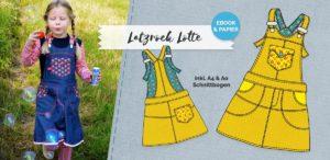 Latzrock Lotte jetzt neu als Ebook im farbenmix Shop