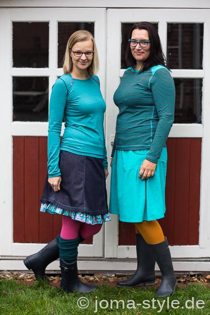 Herbströcke für Damen Schnittmuster Ebook von farbenmix