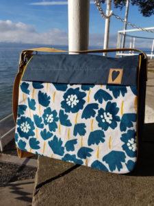 CityStyle mit Reißverschlussfach an der Taschenklappe Taschenspieler 5 farbenmix