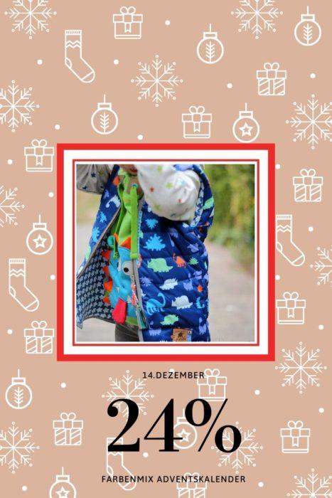 Kinderweste FRIA von farbenmix Adventskalender 2019 farbenmix