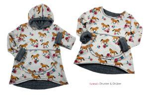 Lagenlook Shirts nähen mit Drunter und Drüber von Farbenmix Ebook und Papierschnittmuster