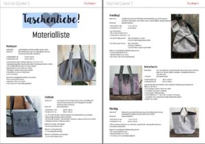TS5SA Materialliste farbenmix Taschenspieler 5