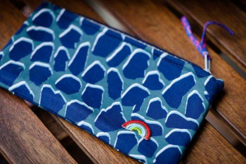 Taschenvielfalt aus der Taschenspieler 5 Serie Designbeispiel Lila Lotta