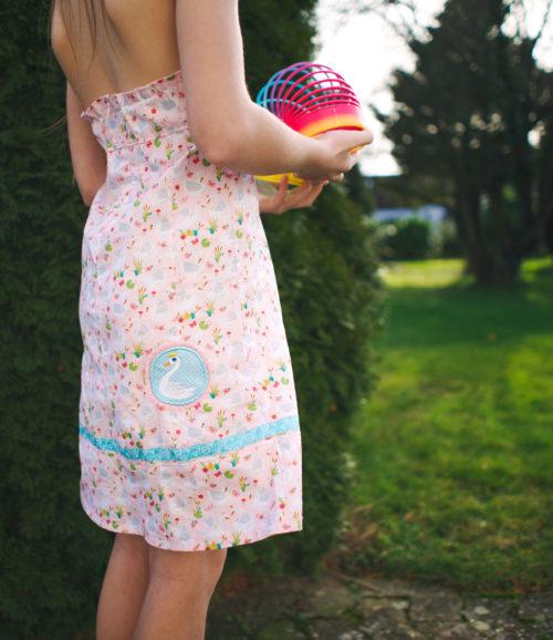 Farbenmix Osterspecial Baumwolle mit Schwänen