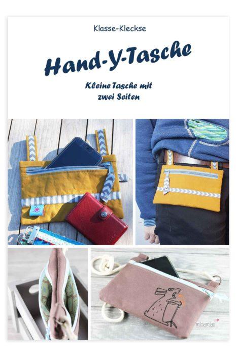 Ebooks für kleine Täschchen die Hand-y-Tasche von klasse Kleckse bei farbenmix erhältlich