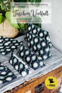 Taschenvielfalt Einzelebook Täschchen nähen farbenmix