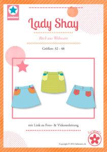 leichte Nähprojekte aus Webware Lady Shaw für Damen bei farbenmix erhältlich