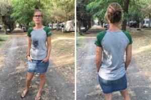 Raglanshirt für Damen kaufen Schnittmuster Ebook Papierschnitt bei farbenmix Design Mialuna