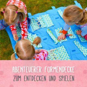 Formendecke ein tolles Geschenk für die Kinder zum Kindertag