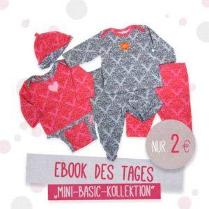 Mini Basics Kollektion Erstausstattung für Babys nähen farbenmix Ebook Freebooks