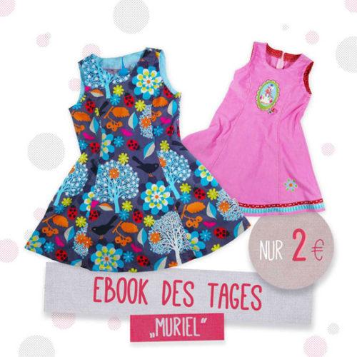 Einschulungskleider nähen wie wäre es mit Muriel von farbenmix..