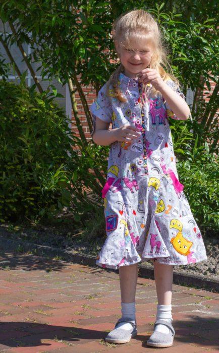 Hemdblusenkleid Gabriella Kinderkleider im farbenmix Shop