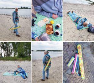 Urlaub zu Hause Ebook Nähanleitung Strandmatte in 2 Größen