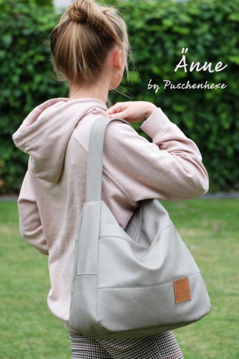 Schultertasche Anne von Puschenhexe Ebook farbenmix