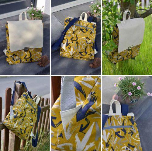 Taschen von Puschenhexe Rucksack Otto erhältlich bei farbenmix