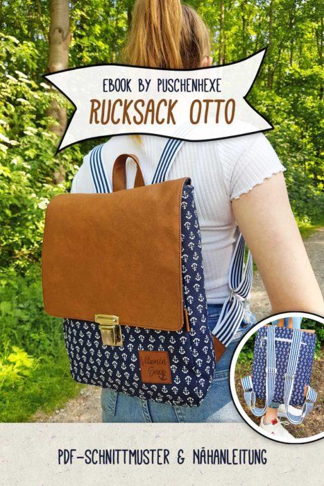 Taschen von Puschenhexe - Rucksack Otto