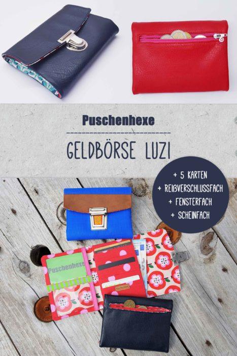 Geldbörse Luzi von Puschenhexe