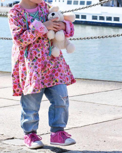 Tunikabluse nähen Schnittmuster Kinder farbenmix Ebook Taja