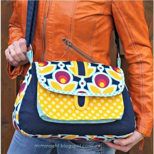 ebook Tasche nähen verschiedene Varianten farbenmix Pepita Design bienvenido colorido