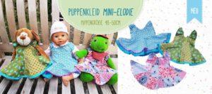 Mini-Elodie Puppenkleid nähen mit Ebook von farbenmix