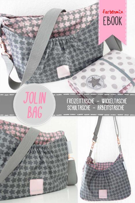 Jolin Bag aus beschichteter Baumwolle farbenmix Staaars