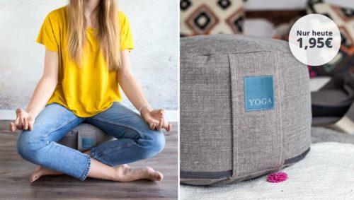 Meditationskissen nähen Yogakissen nähen farbenmix Ebook