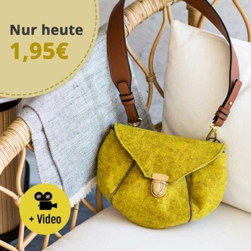 Kleine Feine Taschenebook Schnittanleitung Tasche nähen. Kleine Tasche farbenmix Ebook