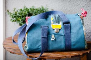Designbeispiel Doktortasche Ebook farbenmix Tasche nähen