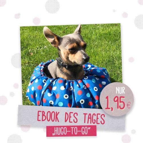 Hundekörbchen nähen mit farbenmix Ebook Hugo to go